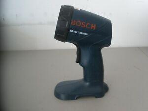 BOSCH 3453 CORDLESS 18 VOLT ADJUSTABLE HEAD 18V BATTERY OPERATED WORK FLASHLIGHT