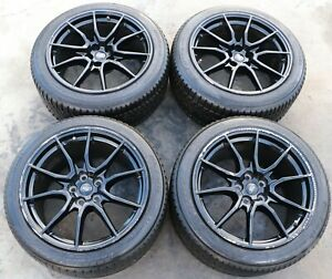 """2019 2020 Ford Mustang Shelby GT350 Factory 19"""" 19x10.5 Black Wheels Rims OEM"""