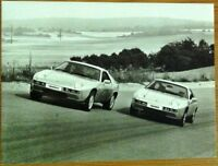 PORSCHE 928 & 928 S PRESS PHOTOGRAPH UNDATED BLACK & WHITE