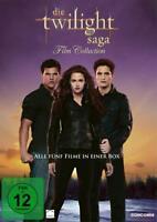 DIE TWILIGHT SAGA - FILM COLLECTION alle 5 Filme in einer DVD Box Edition NEU