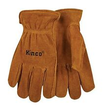 Fencing/Work Gloves Kinco 50-XL Split Suede Cowhide leather,with Keystone Thumb