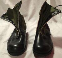 GENESCO CIC 1968 GREEN BLACK VIETNAM WAR HOT WEATHER 13 NARROW JUNGLE BOOTS