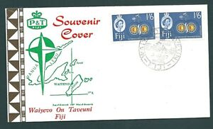 FIJI 1967 Illustrated 180 degree Meridian First Day Cover (b)