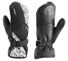 NEW $100 Leki Womens Butterfly Trigger S Goretex Ski Mittens Leather Gloves