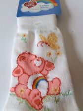 CARE BEAR Lover Cheer Bear RAINBOW Vintage Socks NEW 2003 Women's Size 7-11 GIFT
