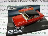 OPE24R voiture 1/43 IXO OPEL collection : KAPITÄN 1955/1958 bicolore