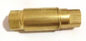 "AW Austworld Logi 350kPa PLV15F Pressure Limiting Valve 15mm 1/2"", Reg Postage"