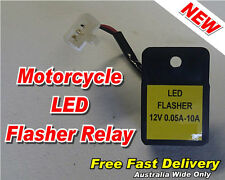 AFTERMARKET 12V LED FLASHER RELAY 2 PIN PLUG FOR YAMAHA TW200 WR250R XT250