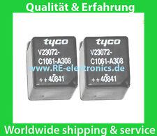 2x Relais Relay TYCO V23072-C1061-A308 Fiat Punto 188 Servo drive Power Steering