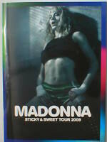 MADONNA sticky & sweet tour 2009 tour programme 64 pages official ex tour stock