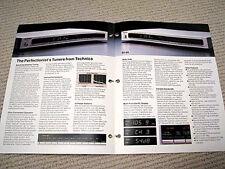 Technics ST-S6 / ST-S4 tuner brochure