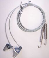 New Pair 1990-93 Ford Mustang  Convertible Side Hold Down Tension Cables
