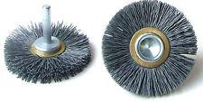 3 x Osborn Ringlock Rundbürste Korfil-E |  Ø 63mm | Schaft-Ø: 6mm | Korn 180