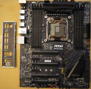 Intel Motherboard MSI X99S SLI PLUS LGA2011-V3 ATX