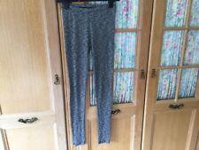Topshop ladies Grey Marl Leggings Size 8