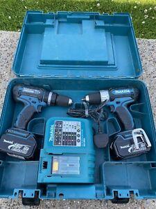 Makita Battery Drill And Driver Set 18v Lxt