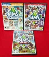 Sims 3 University Pets World Generations  Windows PC Game Expansion Pack w/ Key