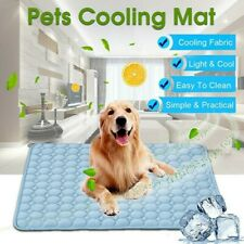 Pet Dog Summer Breathable Cooling Mat Pad Puppy Non Toxic Bed Pads Cushion Pink