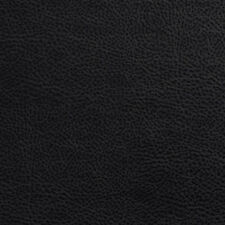 G546 Black, Upholstery Grade Recycled Leather (Bonded Leather) By The Yard