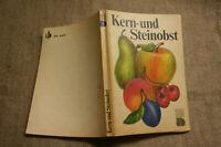 Fachbuch Obstbau, Obst-Gehölzschnitt, Steinobst, Kernobst, Sorten, DDR 1983
