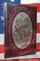 NEW SEALED The Bell Jar The Collected Poems Sylvia Plath Bonded Leather Edition