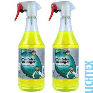 2L TUGA TEUFEL-REINIGER Industriereiniger Reinigungsmittel Universal Silikonfrei