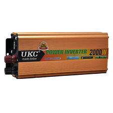 High-power 12V Boost to 220V 2000W Modified Sine Wave Car Auto Power Inverter