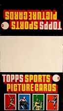 Topps Sports Rack Pack Empty Display Box - Copyright Date Bottom of Box Is 1985