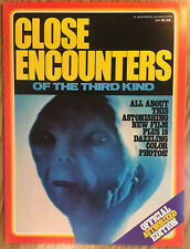 Close Encounters Of The Third Kind Official Authorized Edition Magazine (c) 1977