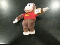 GUND Curious George Plush Stuffed Animal - NwT - NICE - SAVE BIG FREE SHIPPING!