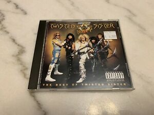 Big Hits and Nasty Cuts: The Best of Twisted Sister [PA] by Twisted Sister (CD,