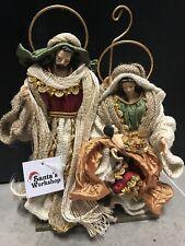 "Christmas In July /Holy Family 12.5""-30 Cm Nativity Scene Religious"