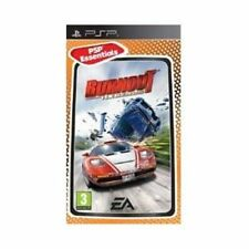 Sony PSP UMD Essentials Game Burnout Legends Boxed Factory