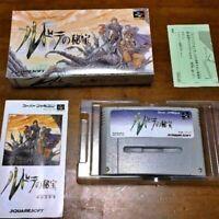 Rudra no Hiho Nintendo Super Famicom SNES Video Game Japan