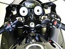 HeliBars® Tour Performance™ handlebar risers for Kawasaki ZZR1400 / ZX14R