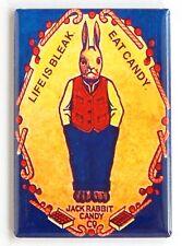 Jack Rabbit Candy FRIDGE MAGNET (2.5 x 3.5 inches) sign