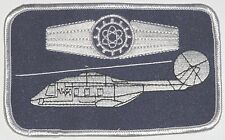 Patch ricamate namemsschild nh90-personale tecnico... Argento a3415
