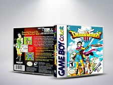 Dragon Warrior III - GBC - Replacement - Cover / Case (NO Game)