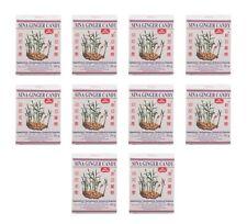 Ingwer Bonbons Sina Pack: 10 x 56g Ginger Candy Bonbon Gingerbon Ingwerbonbons