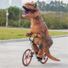 7FT Inflatable Dinosaur Costume Jumpsuit Blowup Dress Suit Halloween Fancy Party