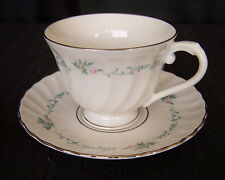 Syracuse Sweetheart Pattern Tea Cup & Saucer