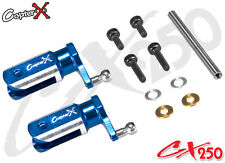 CopterX CX250-01-02 Metal Main Blade Holder Align Trex 250 PRO RC Helicopter