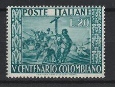 FRANCOBOLLI 1951 REPUBBLICA COLOMBO L.20 MNH Z/4137