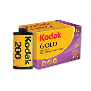 Kodak Gold 200 Speed Color Film 35mm 135 Paper Photo 36 Exposures 11-2022