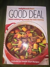 Weight Watchers GOOD DEAL book Cookbook diet recipe Healthy Cooking Points 2014