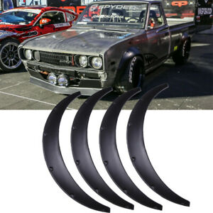 """For Datsun 620 Fender Flares Wider Body Kit Wheel Arches Extensions 3.5"""" 90mm HG"""