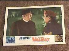 VALIANT 1962 LOBBY CARD #3  JOHN MILLS NAVAL MILITARY