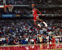 MICHAEL JORDAN 8X10 CELEBRITY PHOTO PICTURE AIR JORDAN DUNK 2