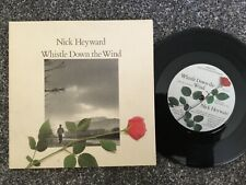VINYL RECORD SINGLE VINTAGE RETRO 45 NICK HEYWARD WHISTLE DOWN WIND PICTURE