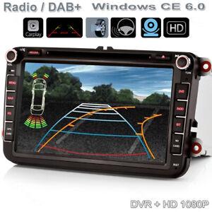 """8"""" GPS Autoradio Autoplay TFT DVD NAVI Für VW Tiguan Golf Polo GTI Passat Jetta"""